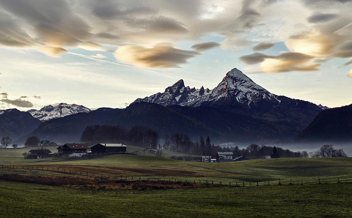Die markante Silhouette des Watzmanns © Klaus Fengler