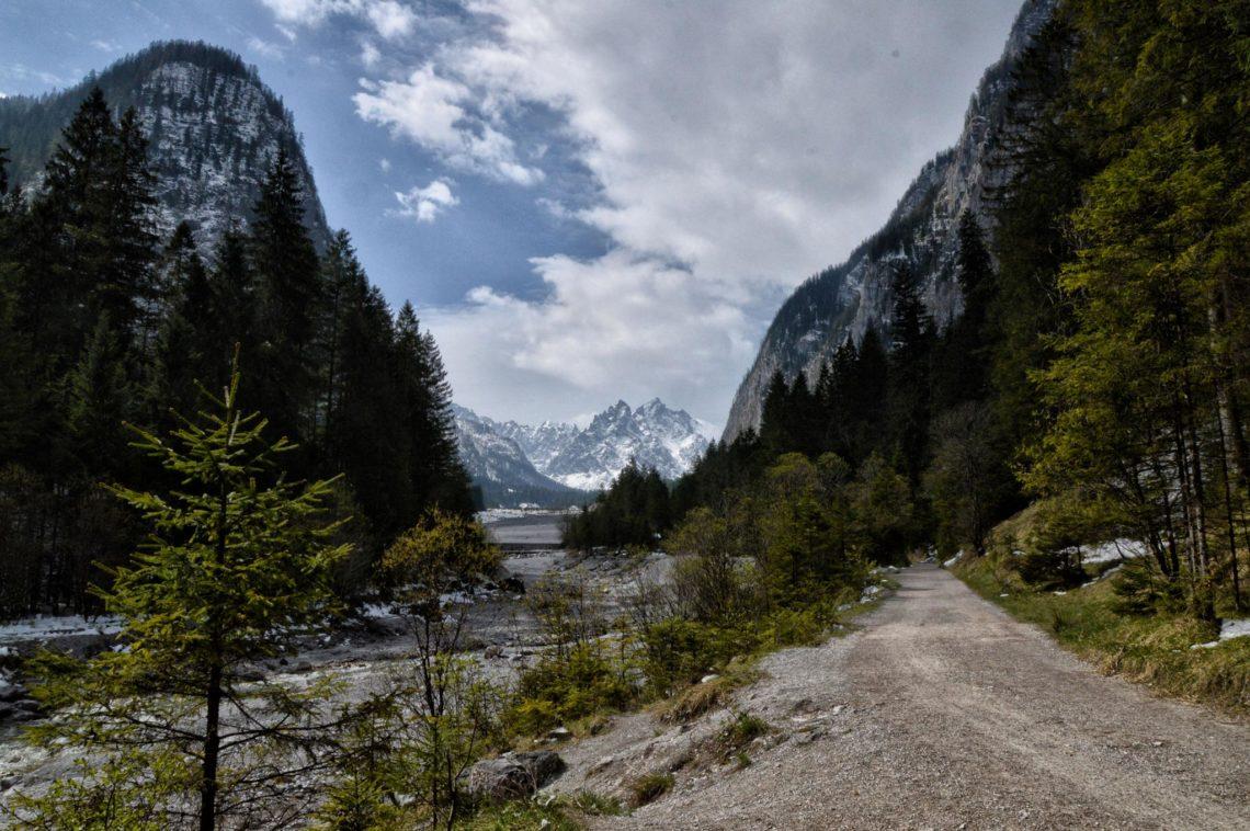 Der Weg ins Wimbachgries