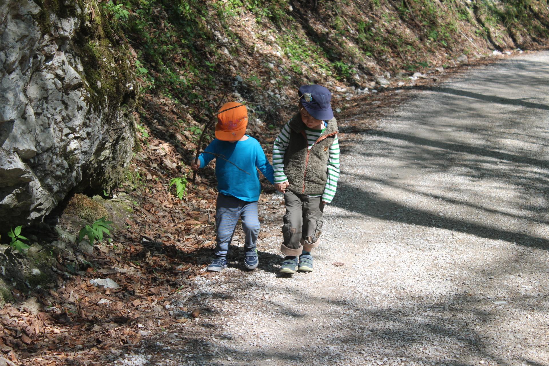 Unterwegs Mit Kindern Wanderung Zum Kugelbachbauer