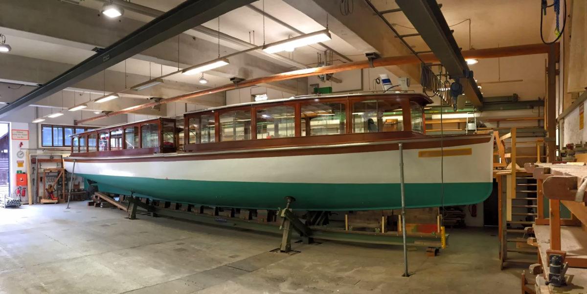 Neues Boot für die Königssee-Flotte © Sebastian Maltan