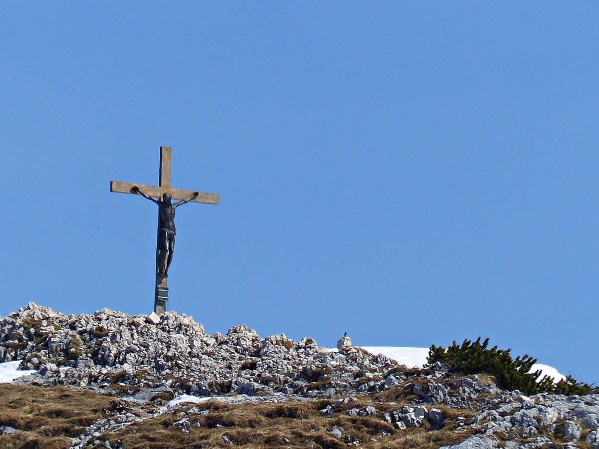 Gipfelkreuz Berchtesgadener Hochthron © Ann-Kathrin Helbig