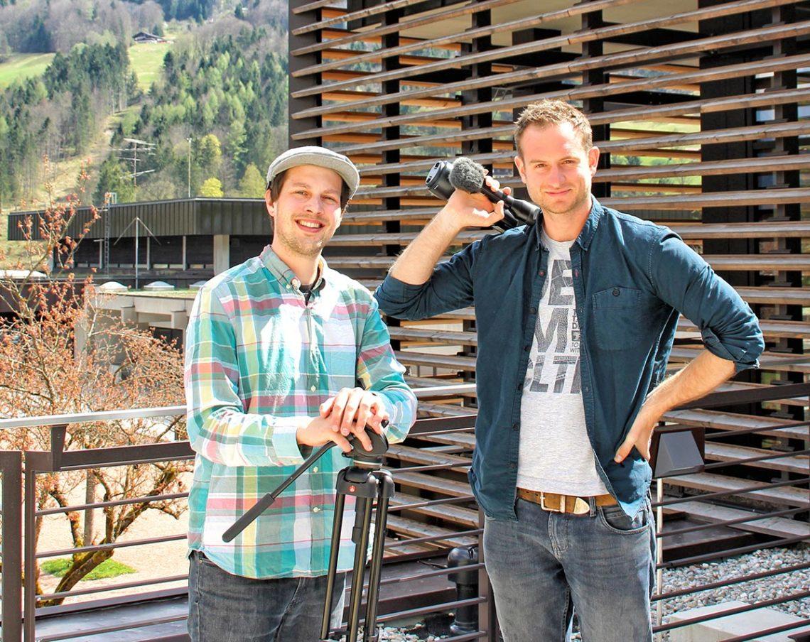 Den ersten großen Schritt hat das BGLT-Bewerbungsvideo Richtung Tourismuscamp bereits hinter sich. Nun hoffen Jannis Braun, Ideengeber fürs Drehbuch und Regie, sowie Michael Walch, verantwortlich für Bild, Ton und Schnitt, auf viele Unterstützer, die für Berchtesgaden als Ausrichtungsort stimmen.