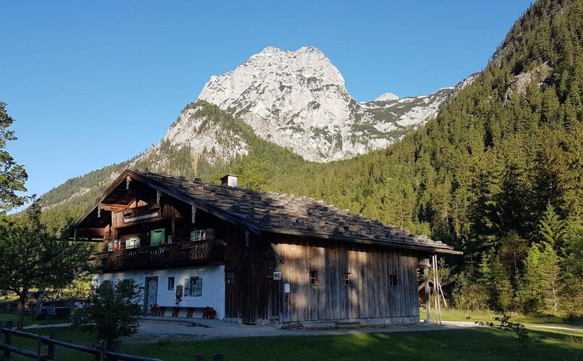 Das Klausbachhaus, Informationsstelle des Nationalparks Berchtesgaden