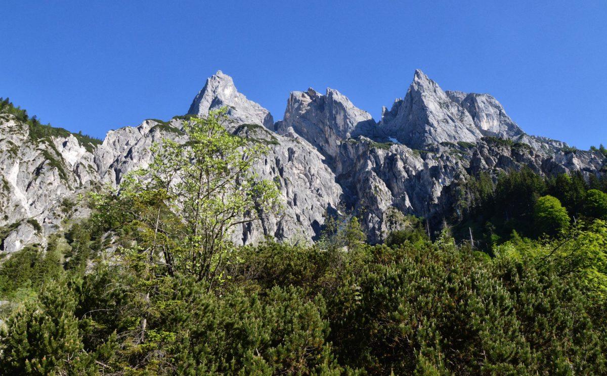 Die Mühlsturzhörner, die Ramsauer Dolomiten
