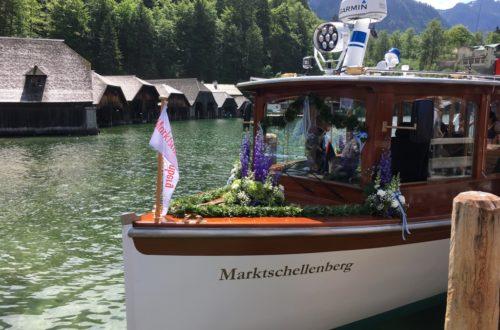 Die Marktschellenberg: Das neue Bott auf dem Königssee