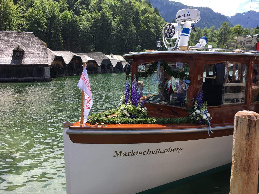 Die Marktschellenberg: Das neue Boot auf dem Königssee