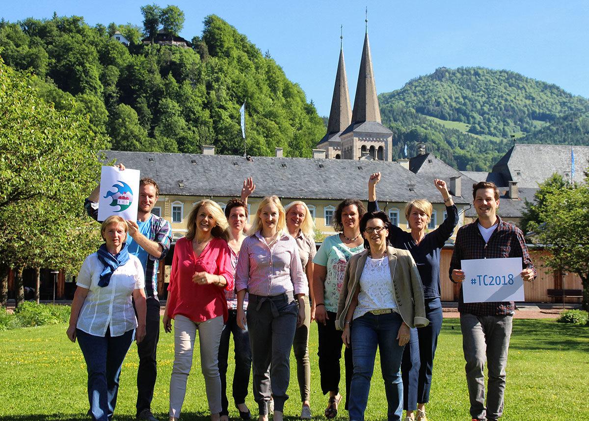 Geschafft: das Tourismuscamp 2018 kommt nach Berchtesgaden. Vier Wochen dauerte die Abstimmung auf Facebook – jetzt freut sich das Team der BGLT über den Erfolg von 1200 Stimmen Vorsprung.