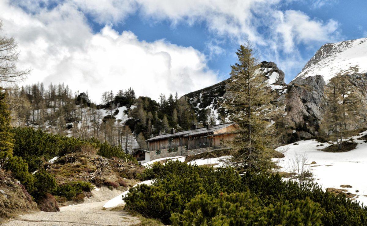 Der Weg zum Schneibsteinhaus