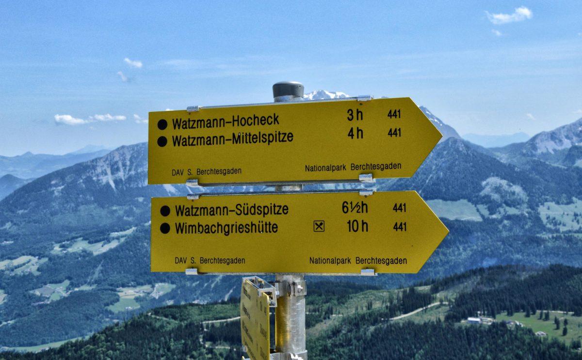 Weiter zum Hocheck oder doch lieber einkehren am Watzmannhaus....