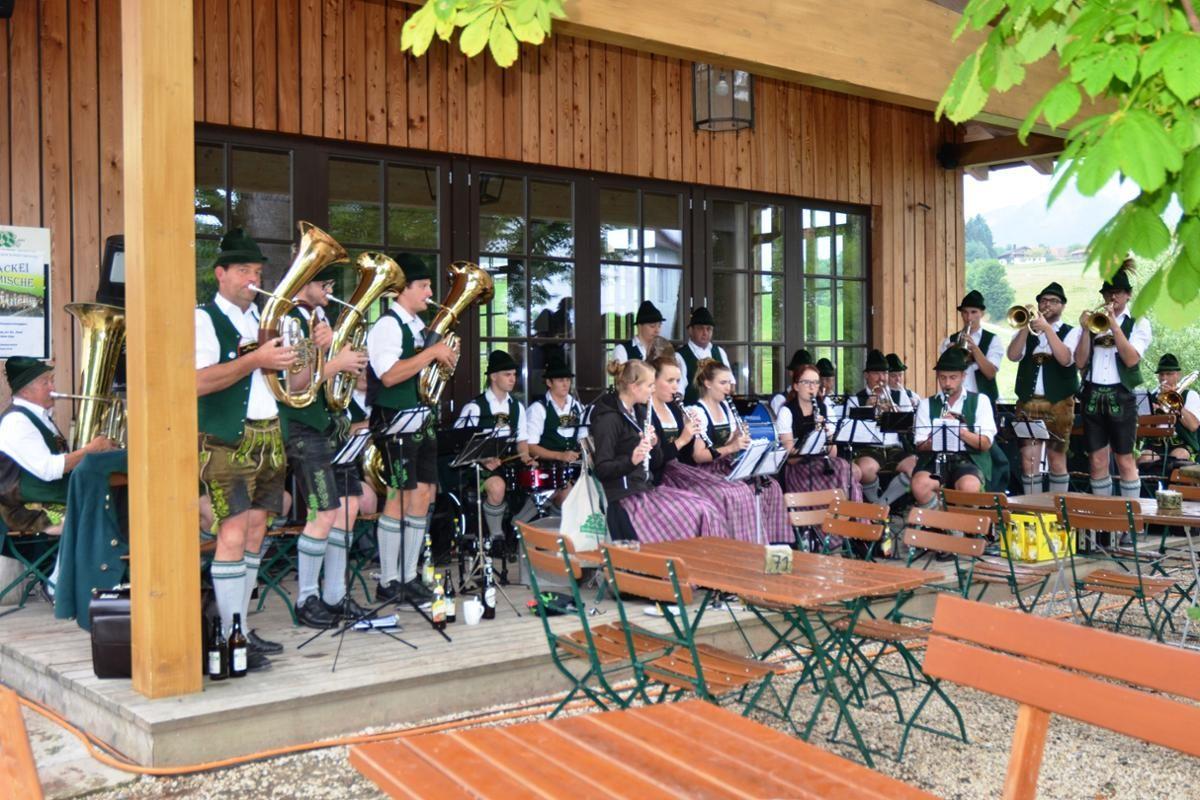 Musik beim Klosterwirt Höglwörth © Biosphärenregion Berchtesgadener Land