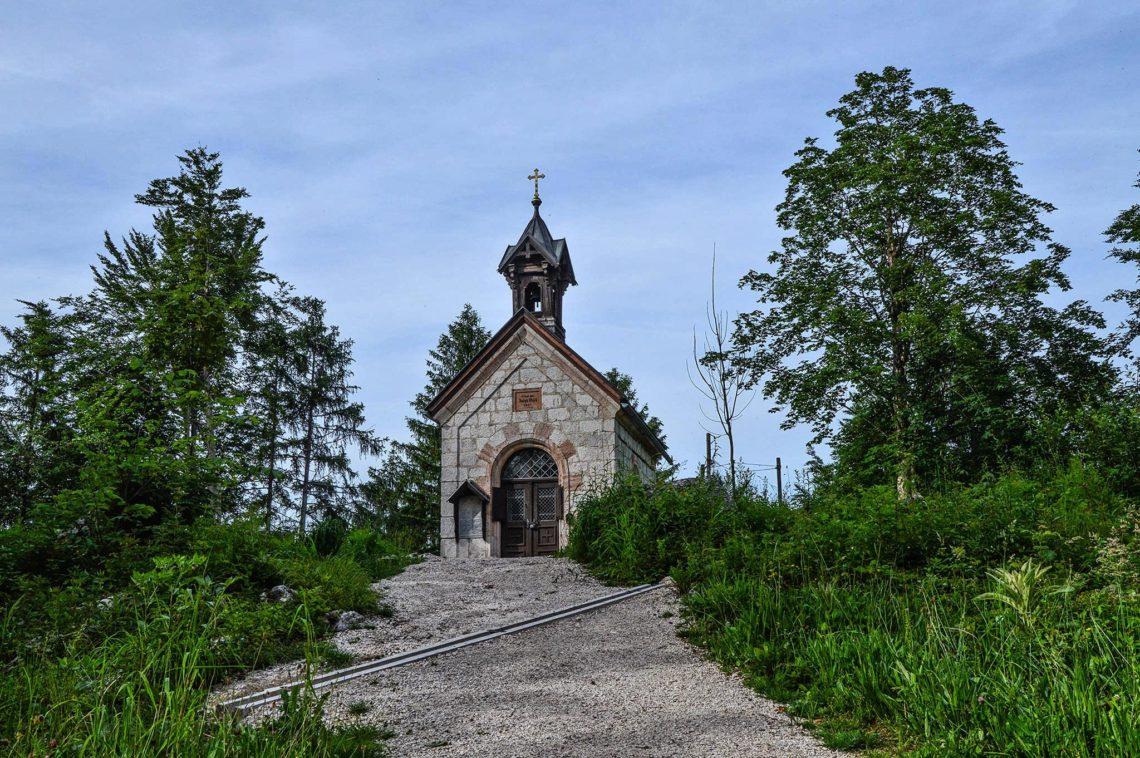 Die Kälberstein-Kapelle