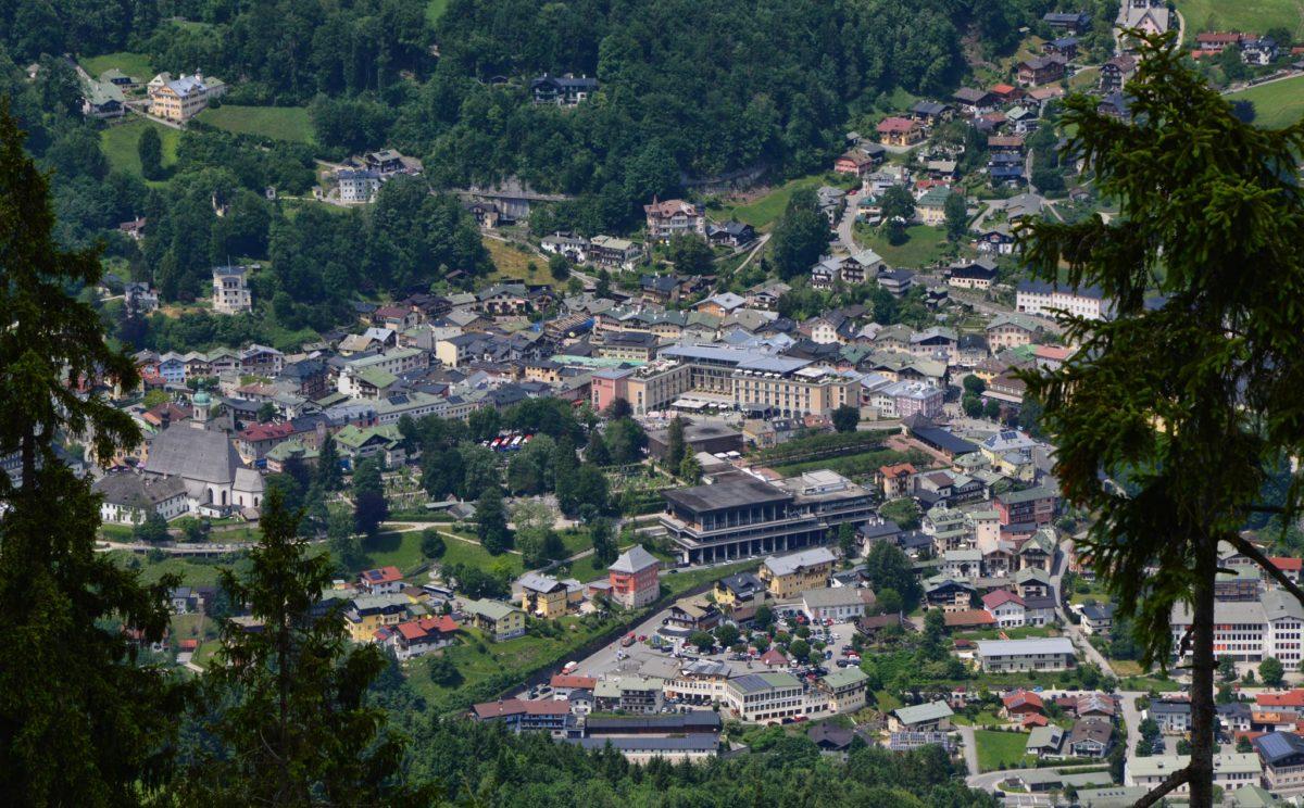 Der Markt Berchtesgaden, dort wird heute 500 Jahre Salzbergwerk gefeiert
