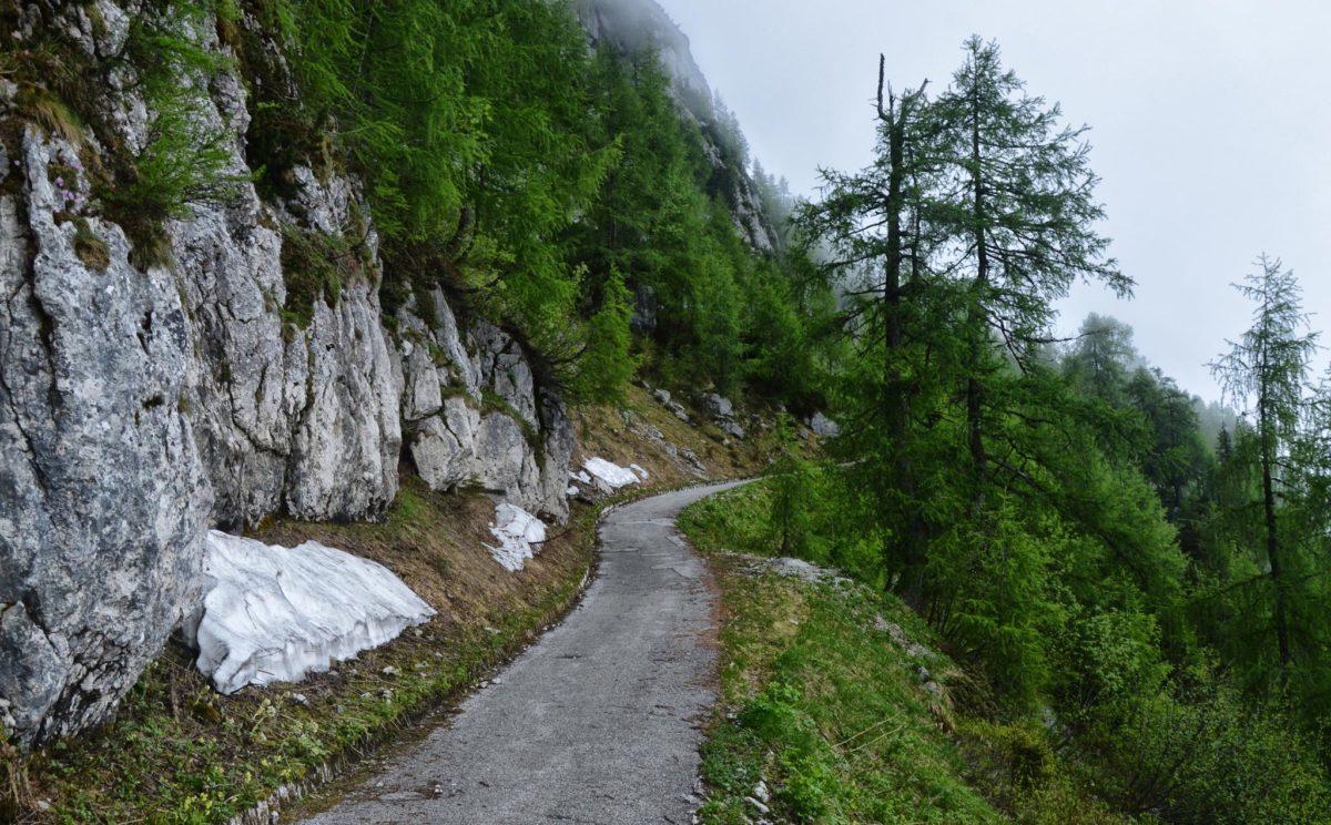 Der Radweg zum Kehlstein