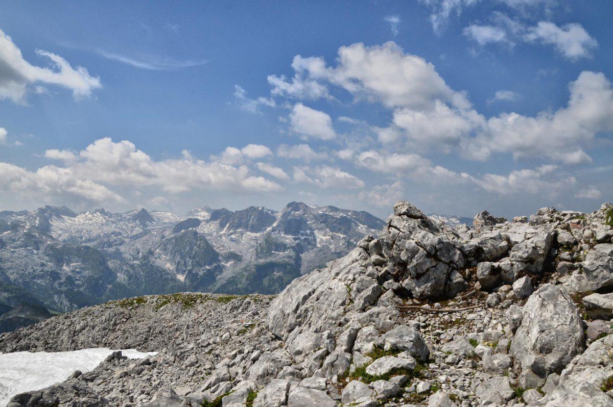 Blick vom Kahlersberg ins Steinerne Meer