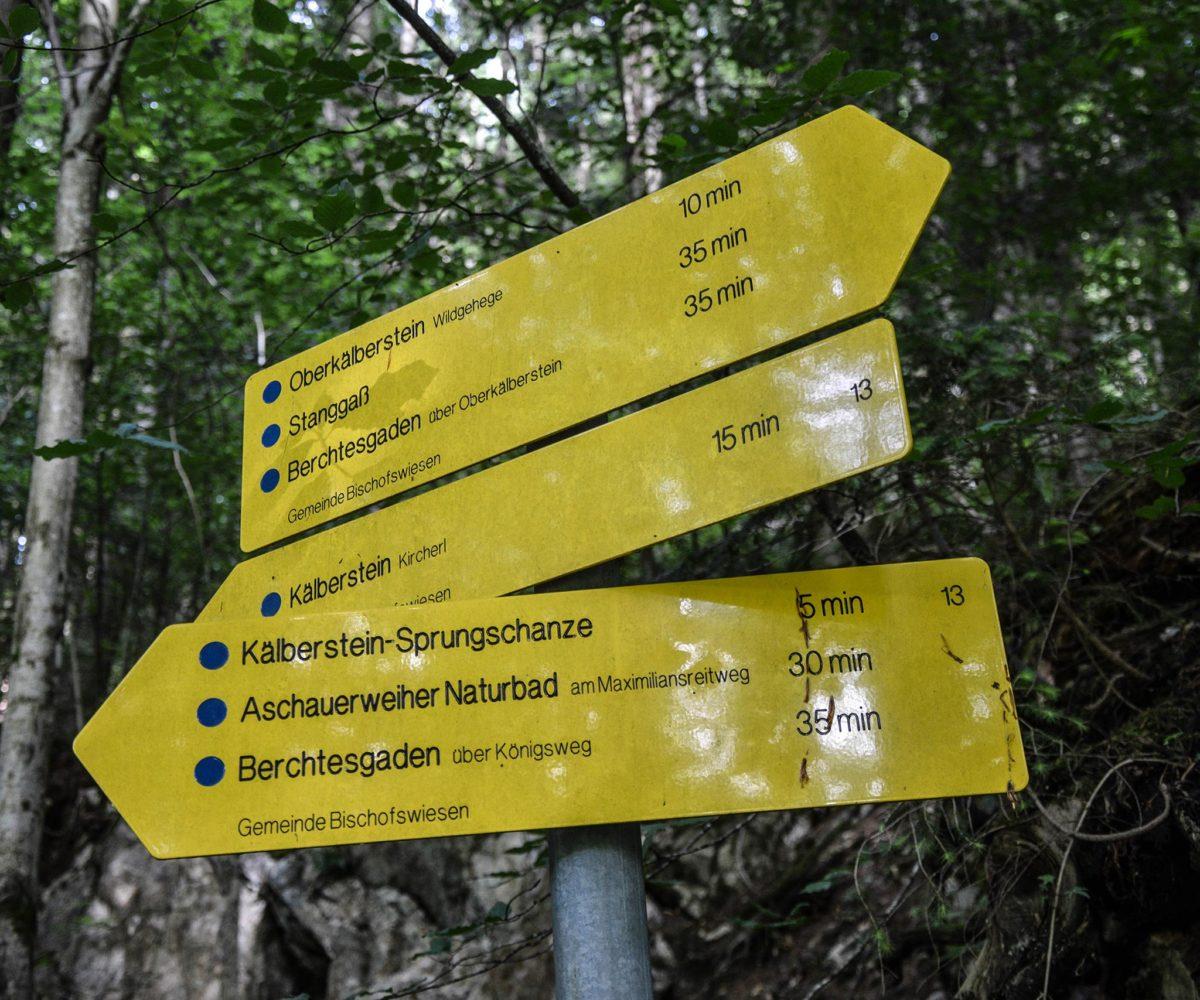 Viele Wandermöglichkeiten am Kälberstein