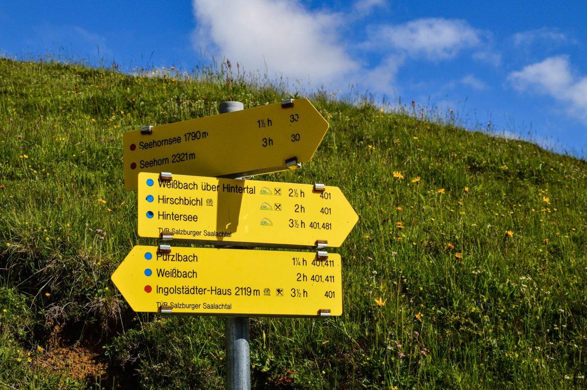 3 Stunden dauert der Aufstieg von der Kallbrunnalm zum Seehorn