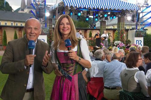 Auf get's zu 500 jahre Salzbergwerk Berchtesgaden mit den Moderatoren Michael Harles und Eva Mähl