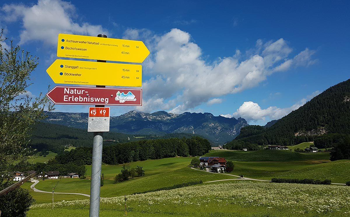 Natur-Erlebnisweg in Bischofswiesen