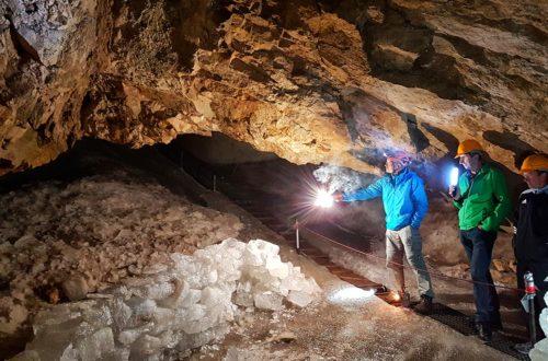 Die Schellenberger Eishöhle im Untersberg