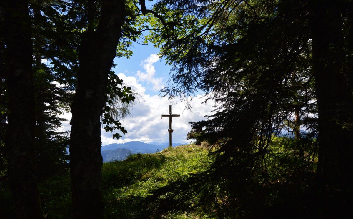 Das Kreuz auf der Vogelspitz