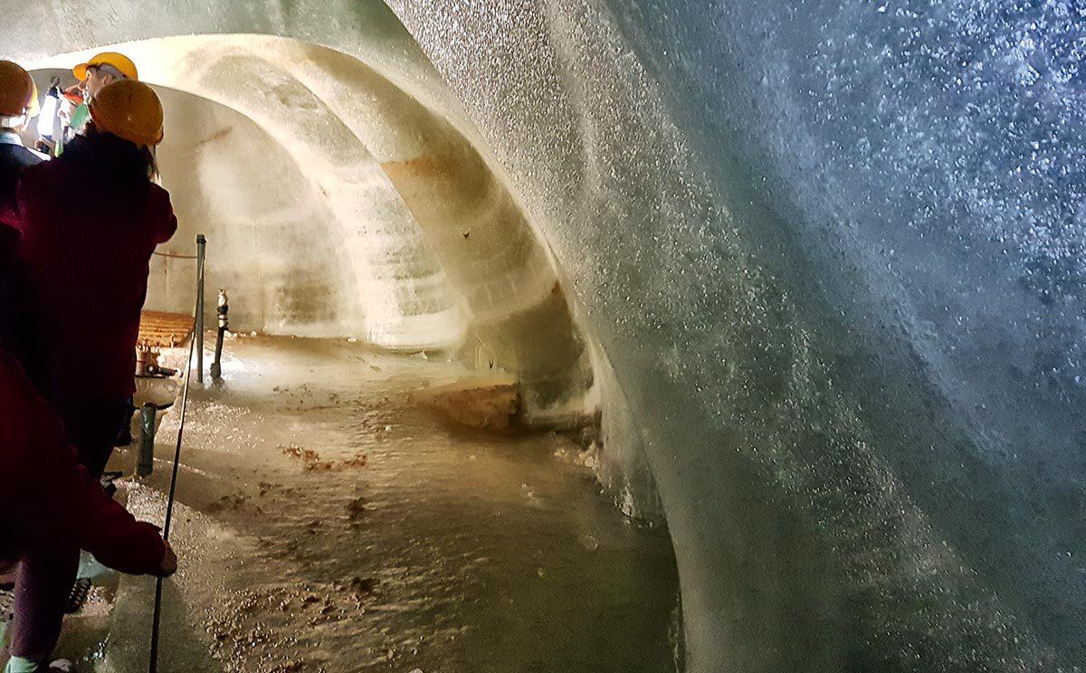 Führung durch die Schellenberger Eishöhle