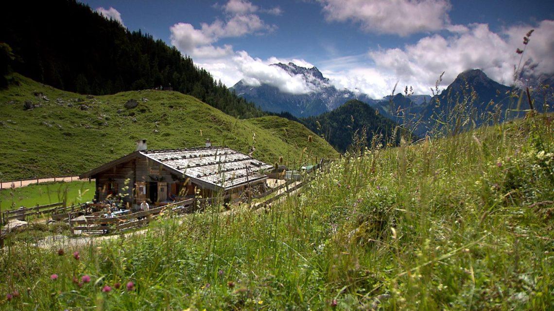 Die Mordaualm im Bergsteigerdorf Ramsau