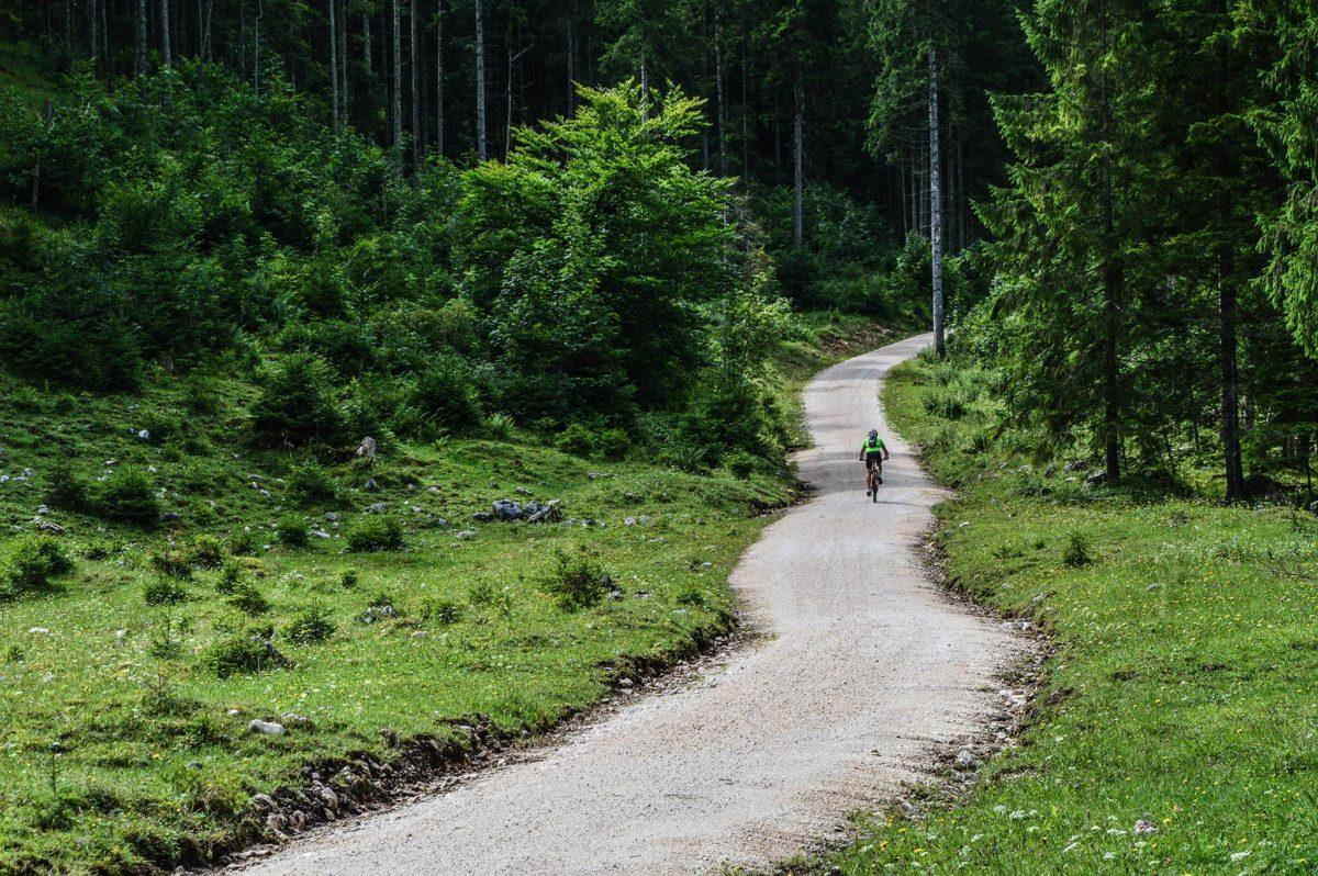 Mit dem Mountainbike zur Schwarzbachalm