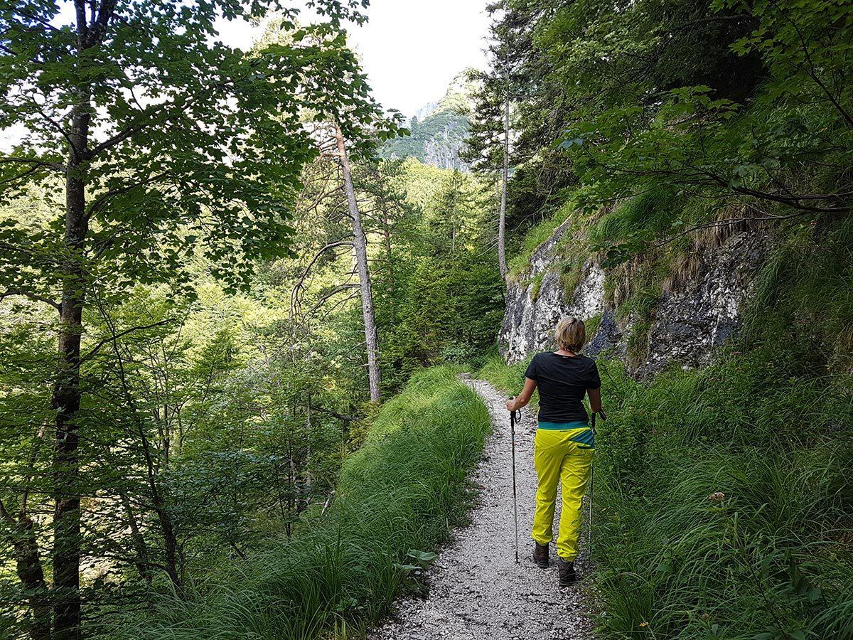 Aufstieg zur Toni Lenz Hütte