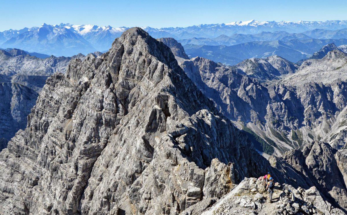 Watzmann-Überschreitung zwischen Mittel- und Südspitze