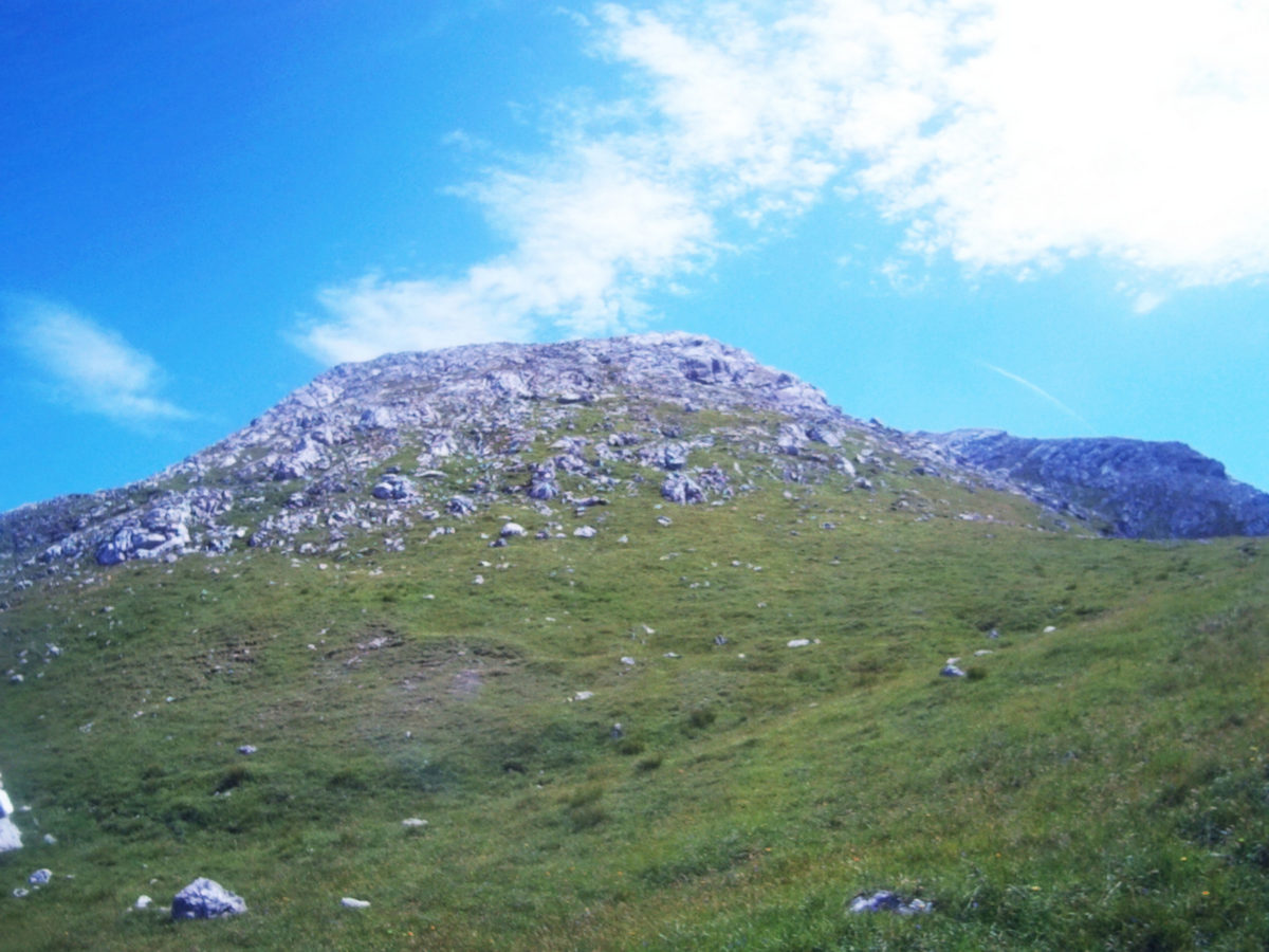 Der Weg wird alpiner