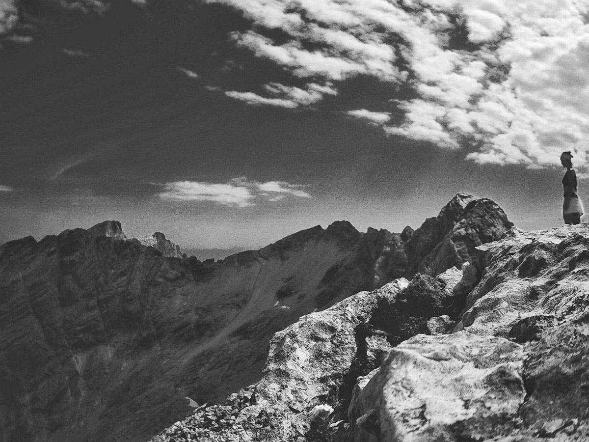 Höhenrausch auf dem Kammerlinghorn