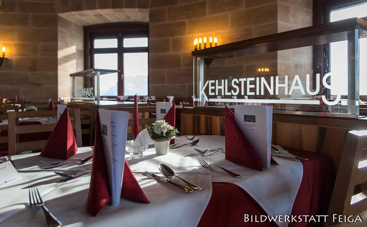 3-Gänge Menü im Kehlsteinhaus