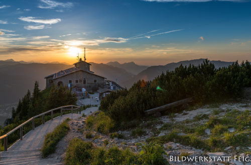 Berchtesgadener Kulturschmankerl: Kehlstein bei Nacht