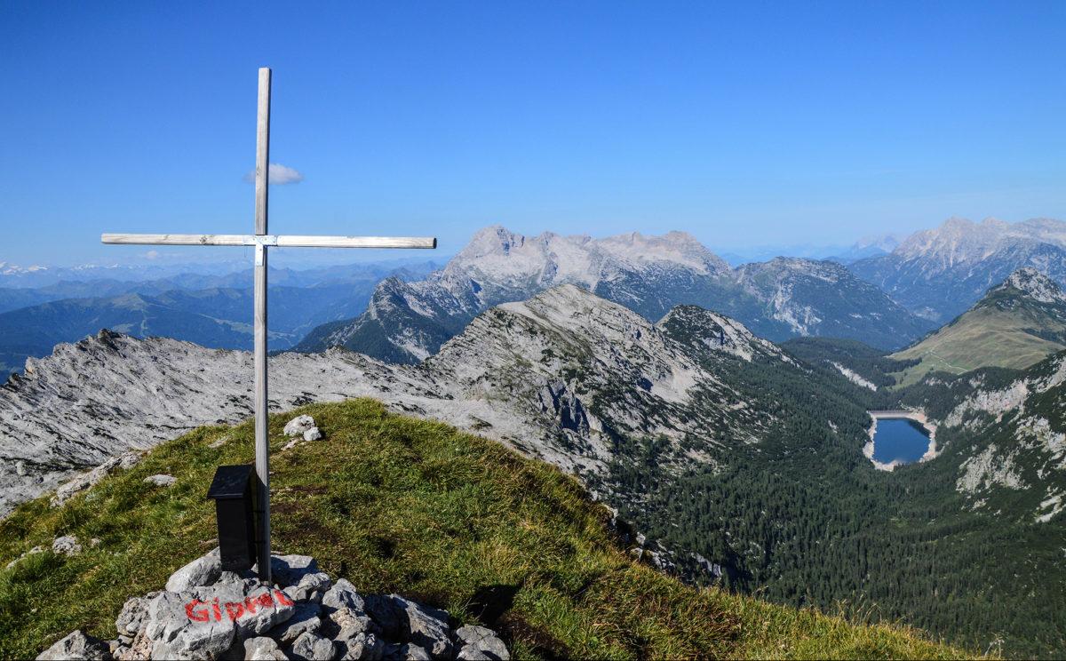 Gipfelkreuz Kleiner Hundstod