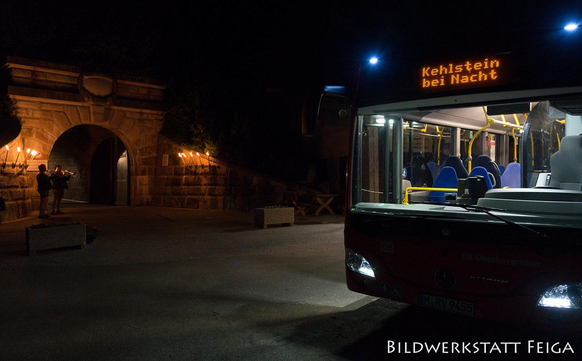 Sonderfahrt Kehlstein bei Nacht