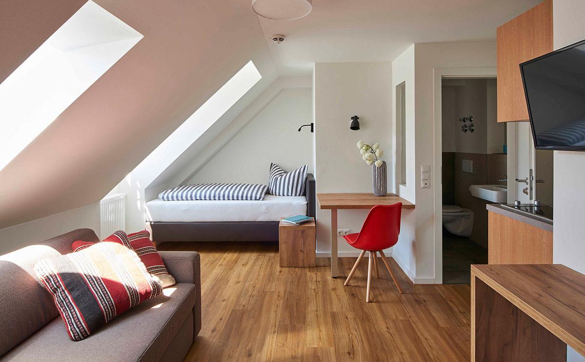 Zimmer im Stadthaus Salzburghofen