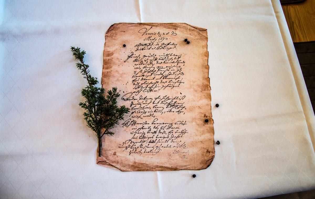 Grassl Brennrecht von 1692