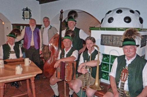 Sepp Forcher dreht Klingendes Österreich mit Berchtesgadener Volksmusikanten im Neuhaus