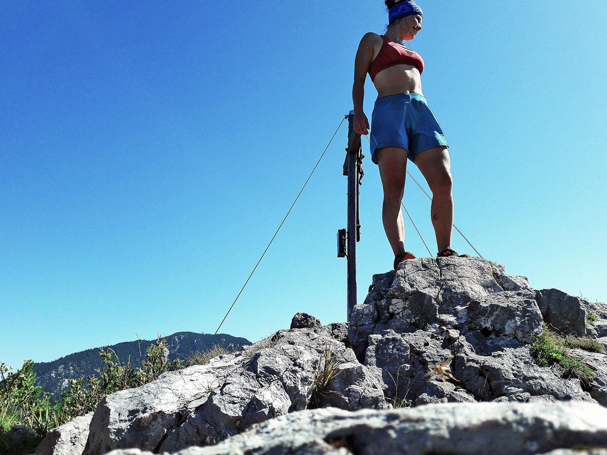 Auf dem Gipfel des Signalkopfes