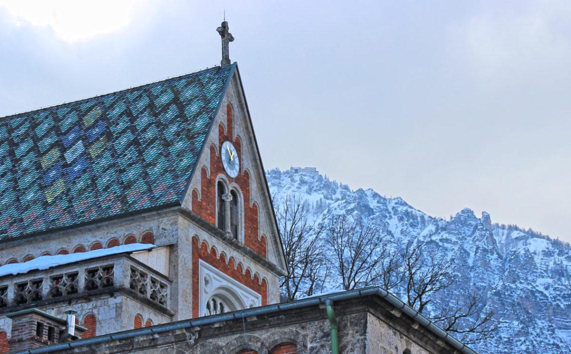 Die Salinenkapelle im Hauptbrunnhaus der Alten Saline