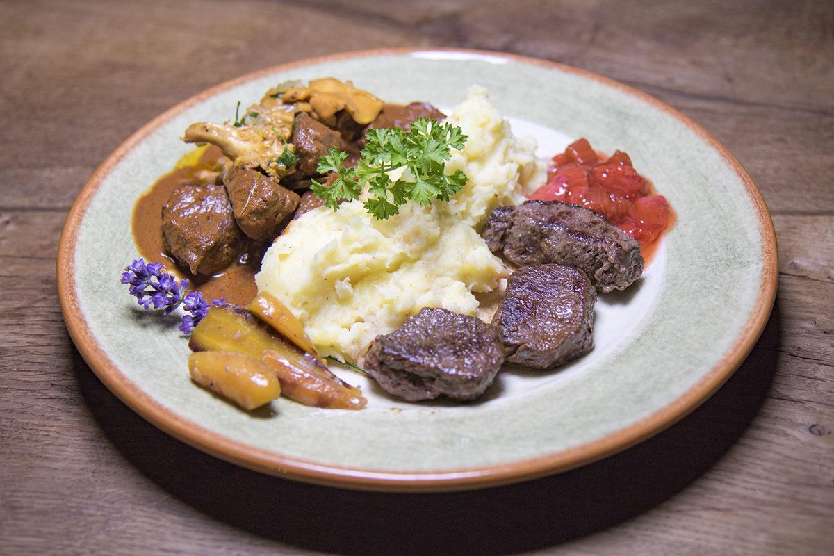 Landfrauenküche: Cathi Lichtmeneggers Hauptspeise