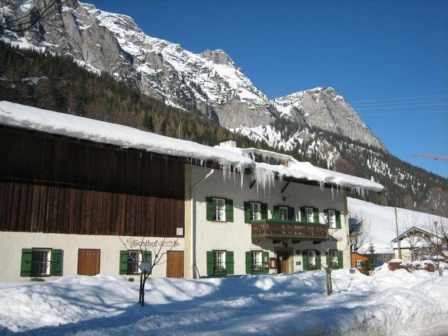 Wirtshaus Auzinger im Winter