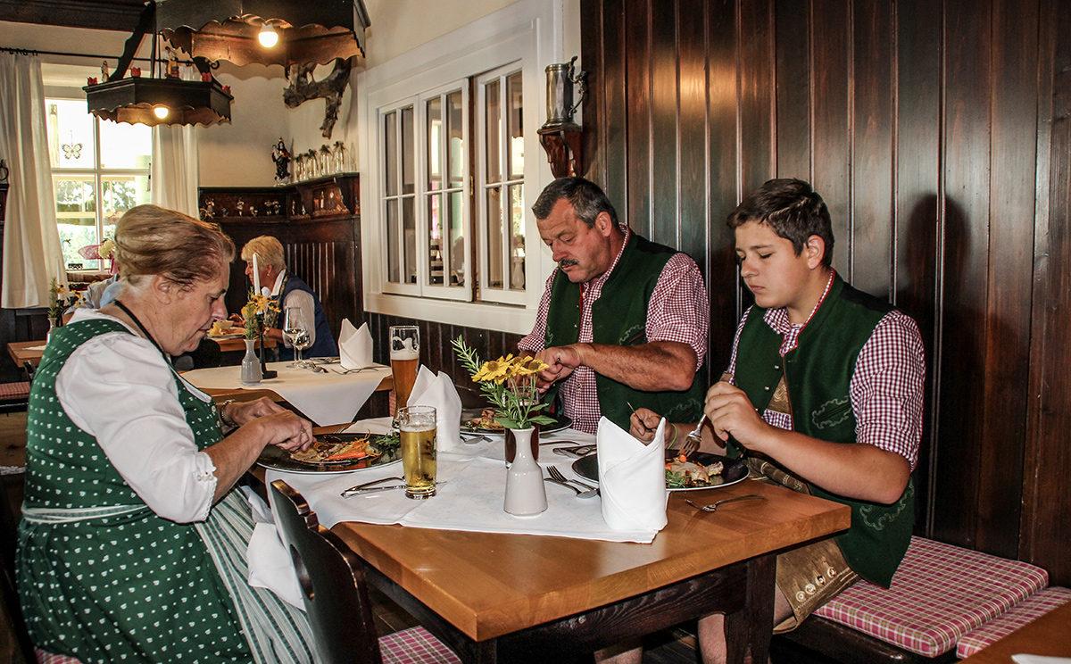 Landgasthäuser Alpenküche, hier im Gut Edermann