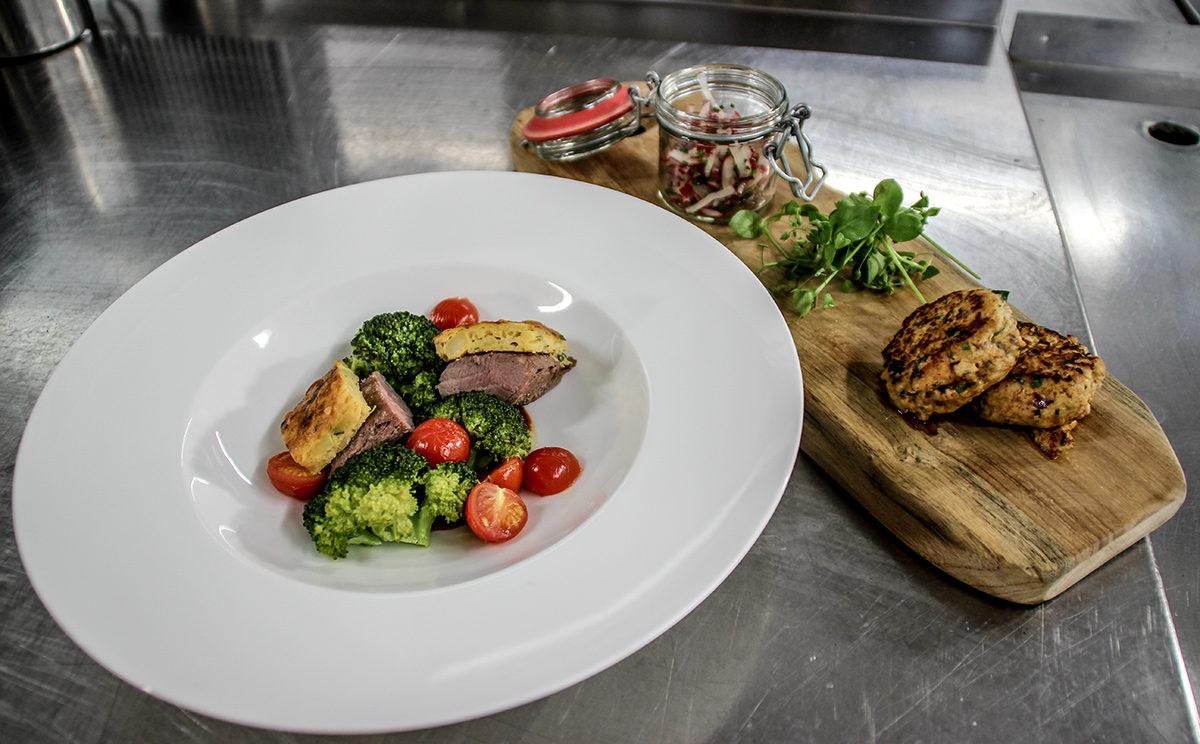 Modern bayerische Küche im Berghotel Rehlegg
