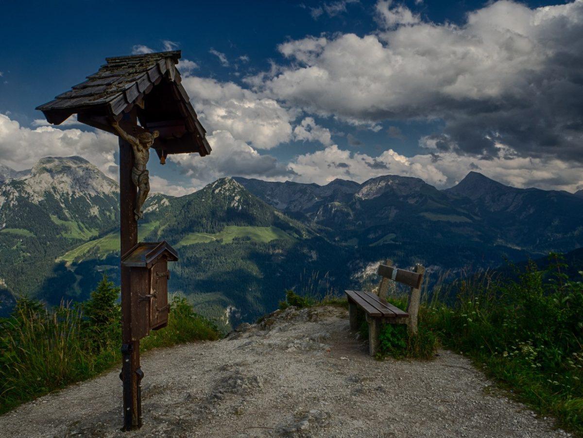 Am Gipfel des Grünsteins