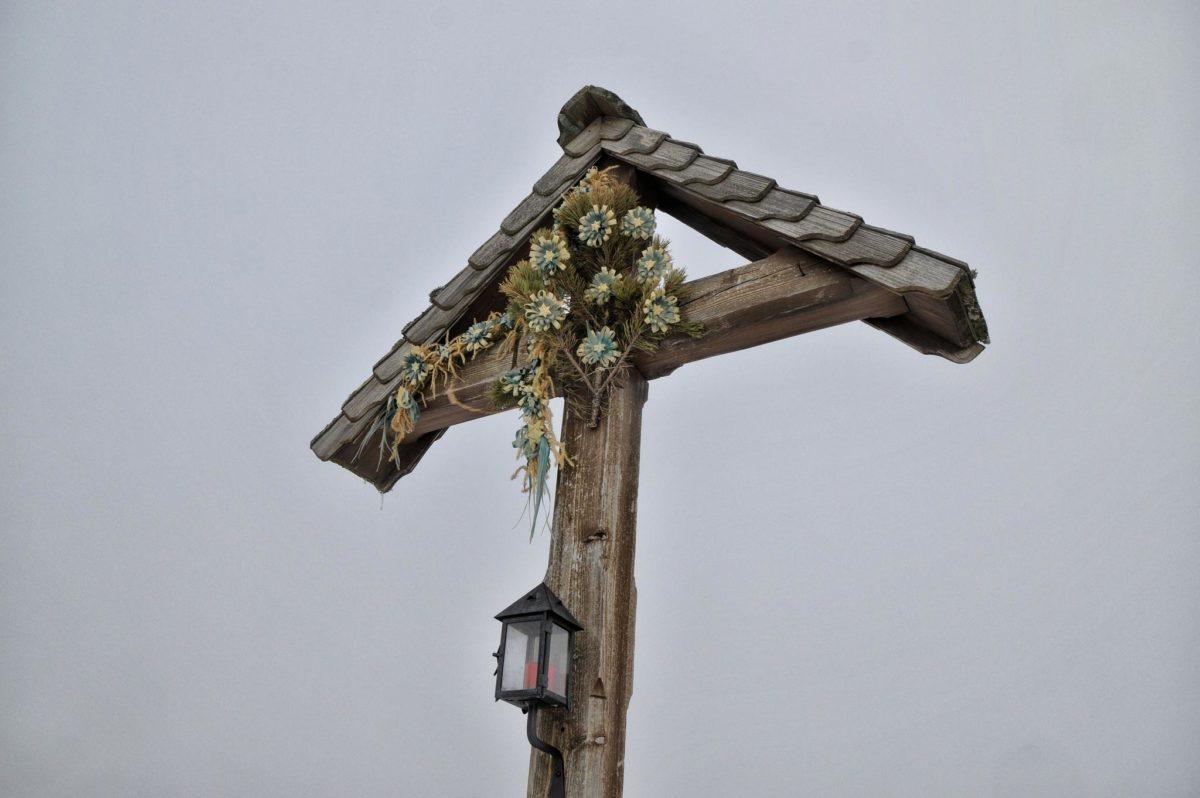 Das Kreuz auf der Halsalm