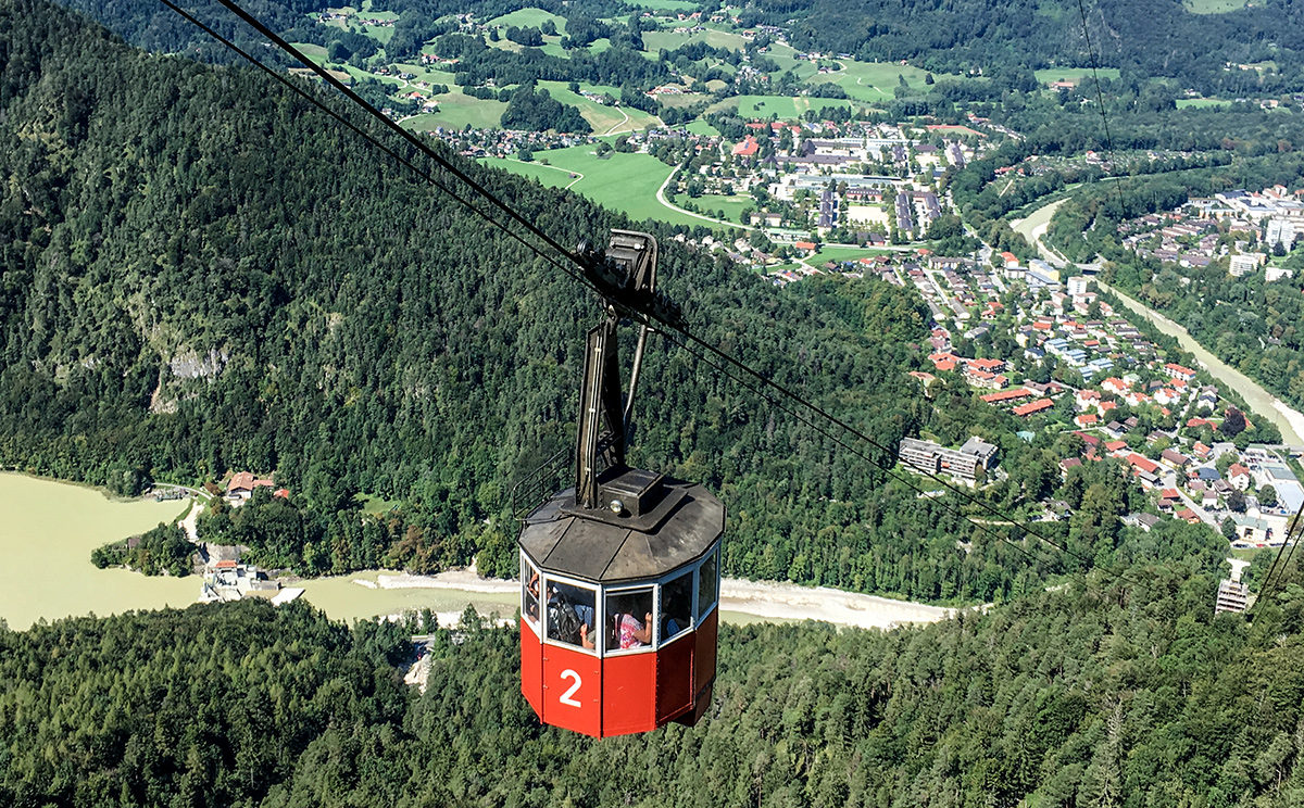 Predigtstuhlbahn: Die Grand Dame der Alpen