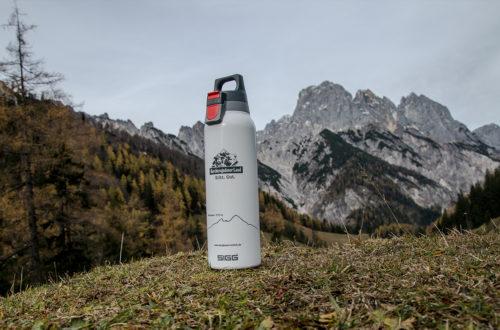 Bergbauernmilch SIGG-Trinkflasche