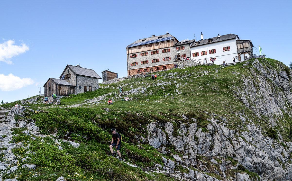 Das Watzmannhaus wird renoviert