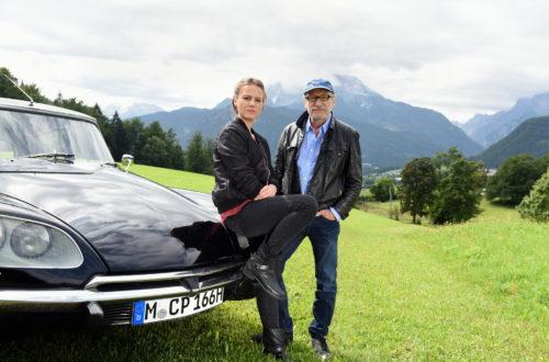 Richter Max Althammer (Franz Xaver Kroetz) trifft Frieda Mirko (Maria Simon) nach vielen Jahren wieder © ZDF | Guenther Reisp